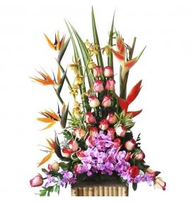 """Arreglo floral """"Gratitud"""""""