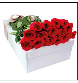 Caja Rosas Rojas