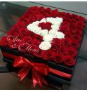 Caja  de Rosas Por siempre
