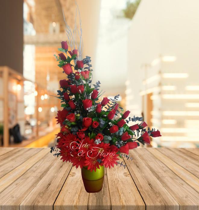 Arreglo Artificial Arte Y Flores Cali